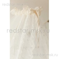 Lappetti  Балдахин с изысканной вышивкой на фатине, (компл. Карета, Герб) арт. 039