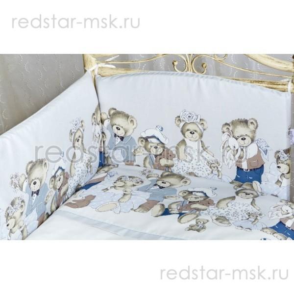 "Lappetti Бортик ""Мишкины игрушки"", раз. 120х60 арт. 1023"