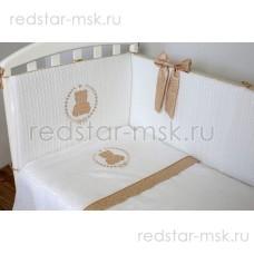 "Lappetti  ""Sweet Teddy"" комплект 6 предметов, ткань сатин-жаккард, арт. 6054"