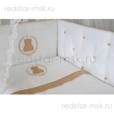 "Lappetti  ""Sweet Teddy"" комплект 6 предметов, ткань сатин-жаккард, арт. 6055"