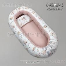 Кокон-трансформер с отстегивающейся подушкой для кормления (хлопок) №53