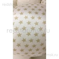 """Игрушка-ограничитель """"Гусеница"""" (хлопок) лоскуты № 8 звезда (180 см)"""