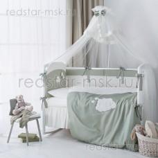 "Балдахин для кроватки ""Бамбино Олива"" Perina"