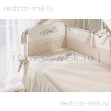 """Комплект в кроватку """"Эстель"""" Perina 6 предметов"""