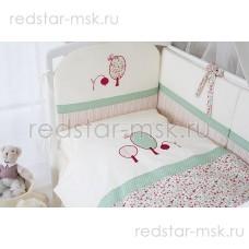 """Комплект в кроватку """"Клюковка"""" Perina 6 предметов"""
