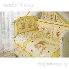 """Комплект в кроватку """"Ника"""" Perina 3 предмета, цвет - бежевый."""