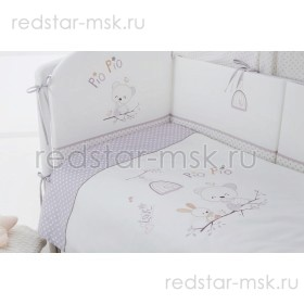 "Комплект в кроватку ""Pio Pio"" Perina 7 предметов"