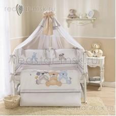 "Комплект в кроватку ""Венеция Три друга"" Perina 7 предметов"