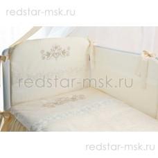 """Комплект в кроватку """"Версаль"""" Perina 6 предметов"""