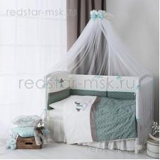 """Балдахин для кроватки """"Жила-была Лошадка"""" Perina"""