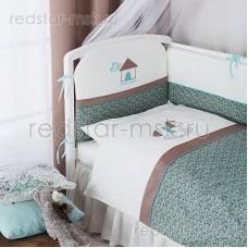 """Комплект в кроватку """"Жила-была Лошадка"""" Perina 6 предметов"""