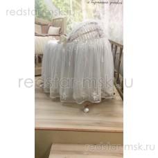 Колыбель плетеная из лозы