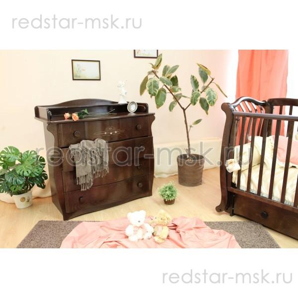 Детский комод  Красная Звезда (Можга)  С265 Н