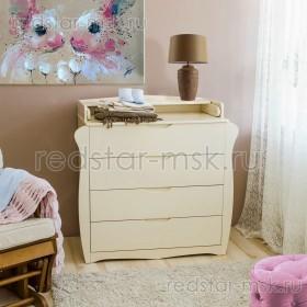 Детский комод с пеленальным столиком С543 П