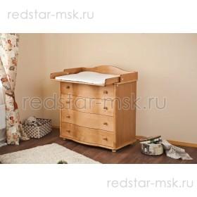 Детский комод с пеленальным столиком С566 Д