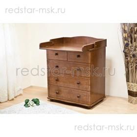 Детский комод с пеленальным столиком С575 Д