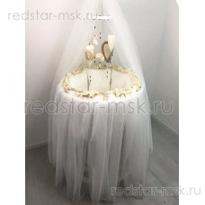 """Комплект MARELE """"Версаль"""" для овальной кроватки"""