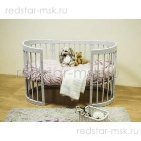 Детская кровать-трансформер Паулина С322 8 в 1
