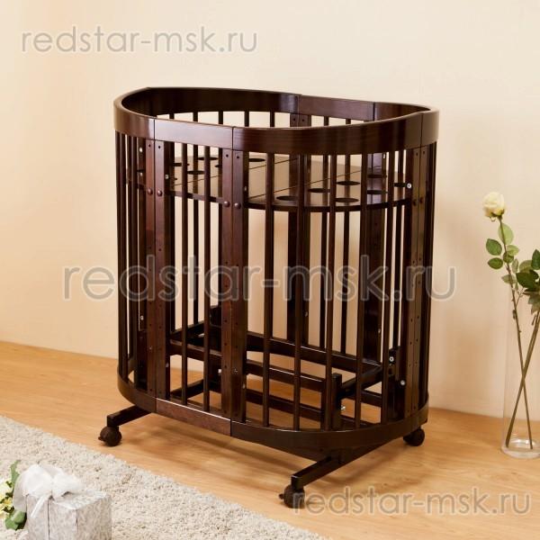 Детская кроватка  Красная Звезда (Можга) Паулина С322 8 в 1