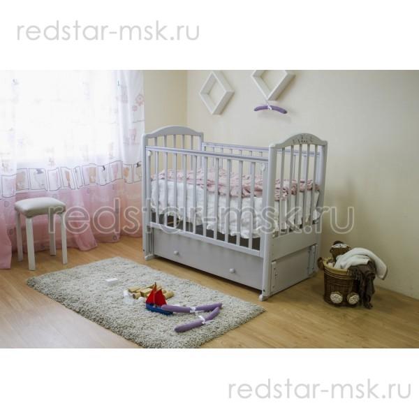 """Детская комната """"Утренняя дымка"""" цвет: светло-серый"""