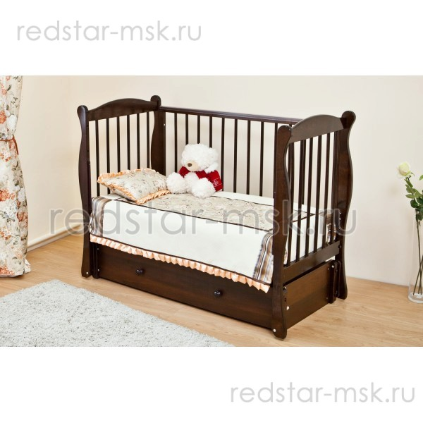 Детская кроватка  Красная Звезда (Можга) Уралочка С742