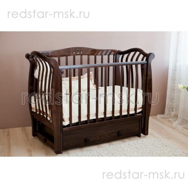 Детская кроватка  Красная Звезда (Можга) Аэлита С888