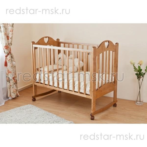 Детская кроватка  Красная Звезда (Можга) Любаша С635