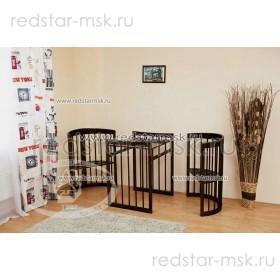 Детская кровать-трансформер Паулина-2 С-422