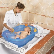 Ванночка Ok Baby Onda Evolution + подставка на ванну раздвижная