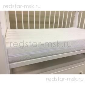 """Детский ортопедический матрас """"Снежный кокос""""  120х60 см."""