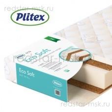 Детский ортопедический матрас Eco Soft  (Plitex) 120х60 см