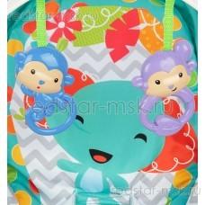 Шезлонг Corol R1 elephant, цвет: голубой